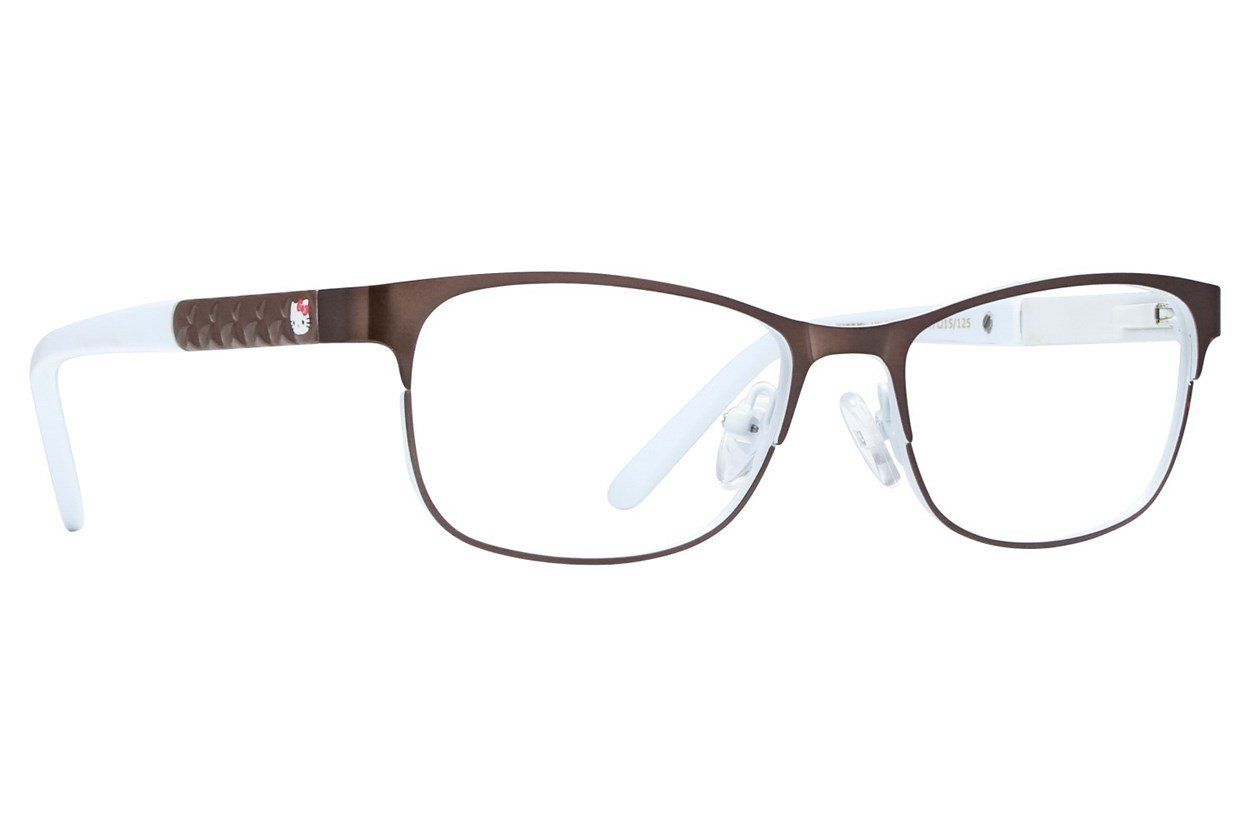 Hello Kitty HK255 Brown Glasses