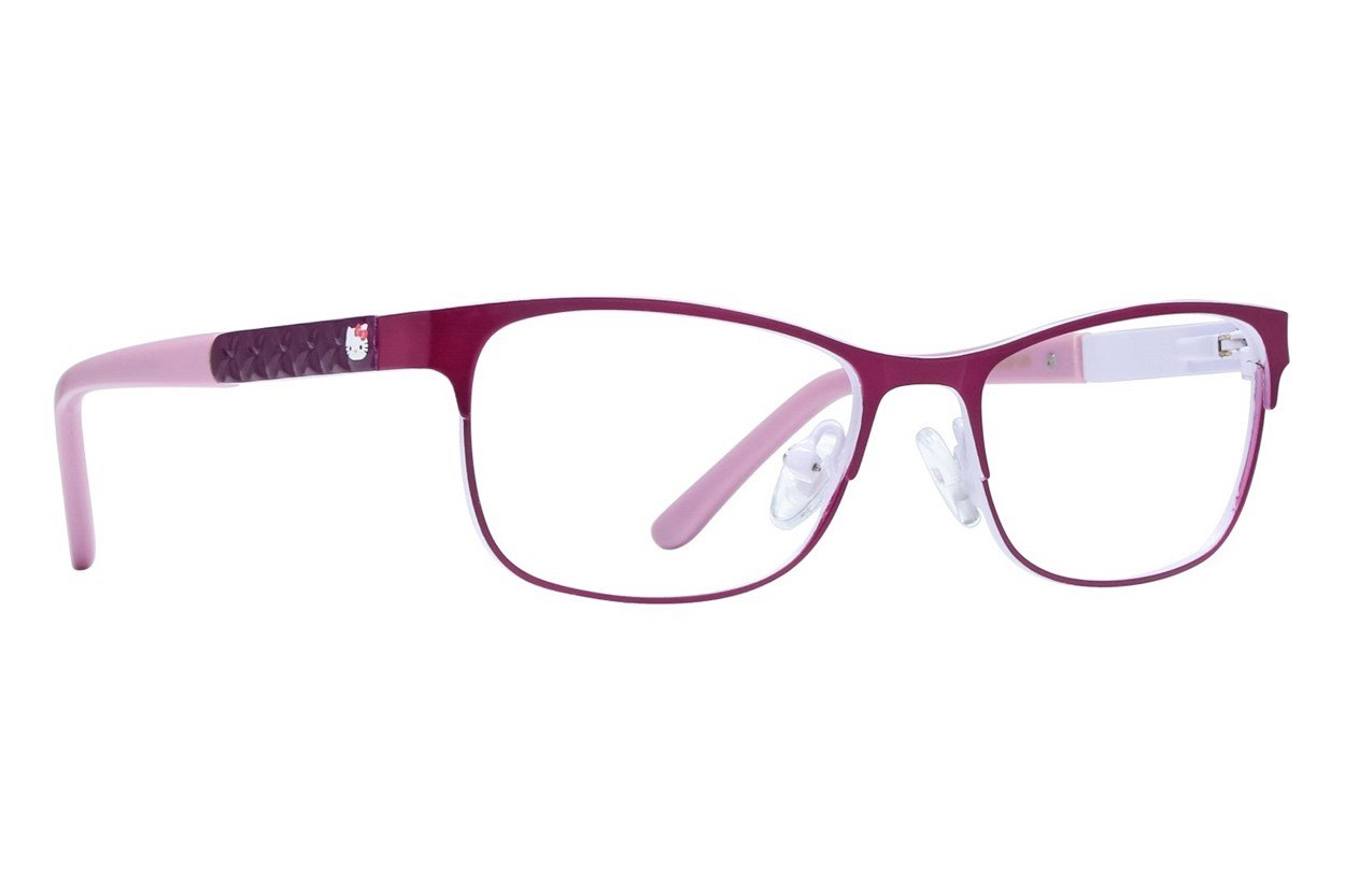 Hello Kitty HK255 Purple Glasses