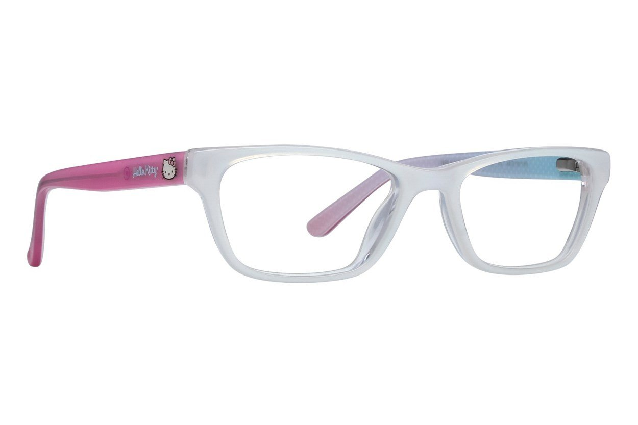 Hello Kitty HK259 White Glasses