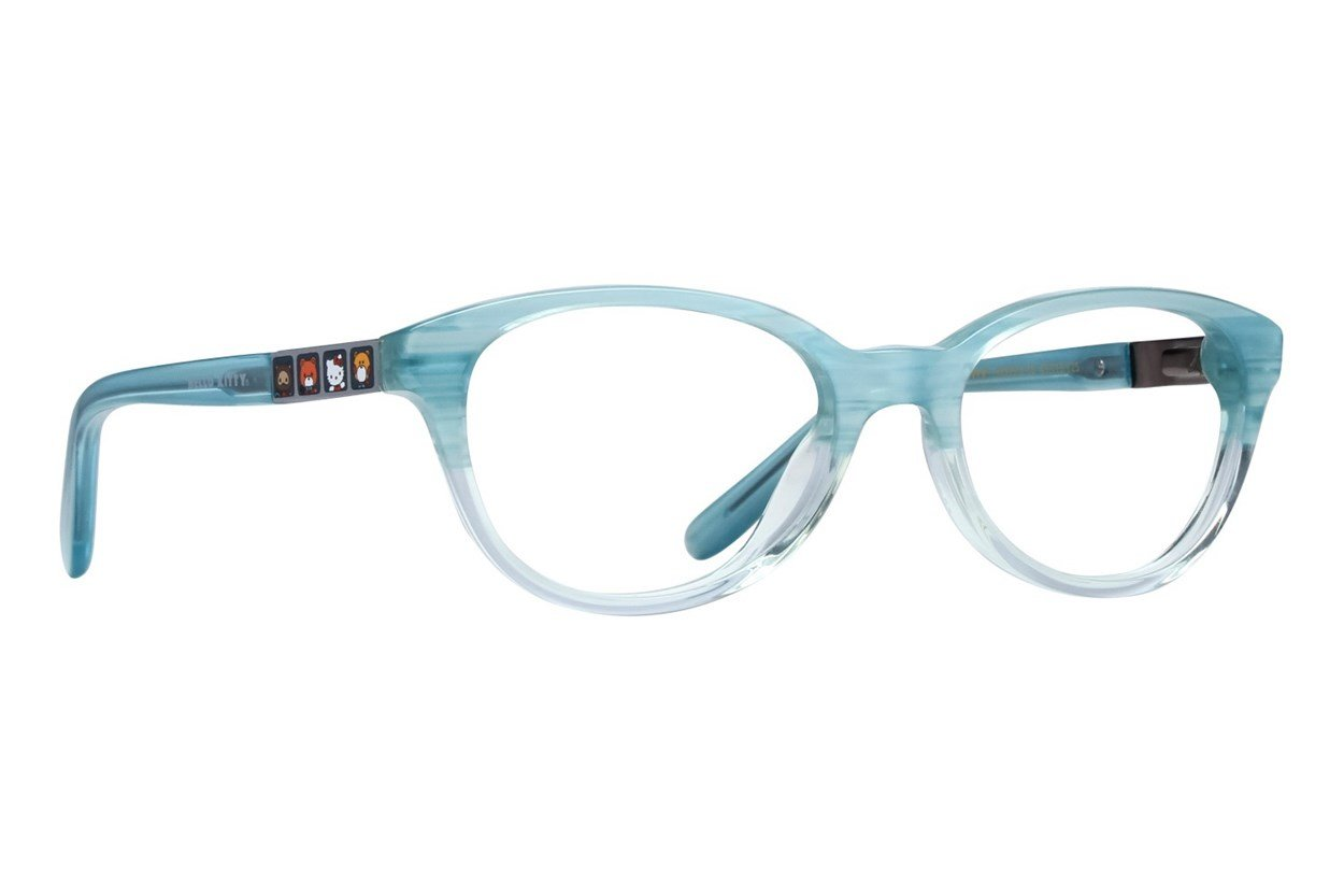 Hello Kitty HK279 Eyeglasses - Blue