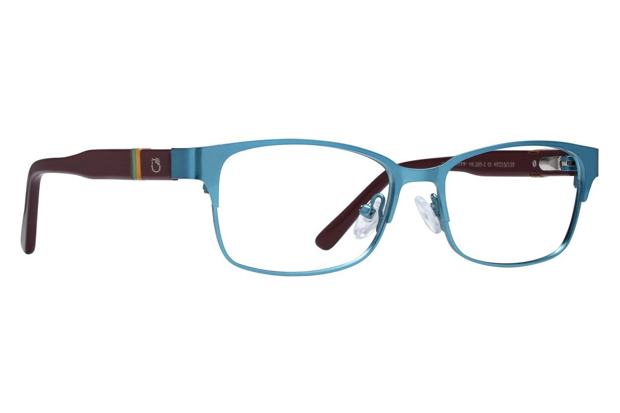 Hello Kitty HK280 Eyeglasses - Green