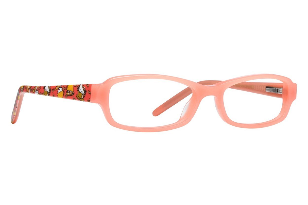 Hello Kitty HK283 Orange Glasses