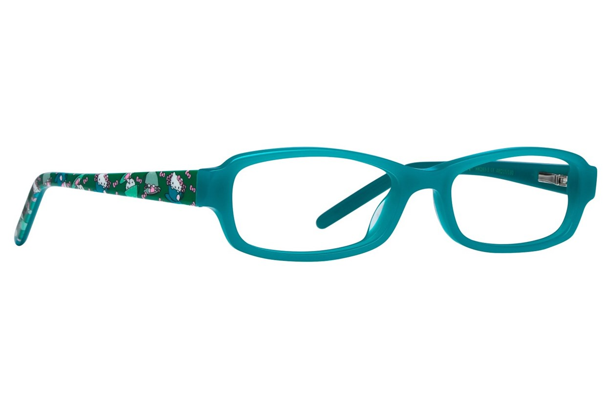 Hello Kitty HK283 Turquoise Glasses