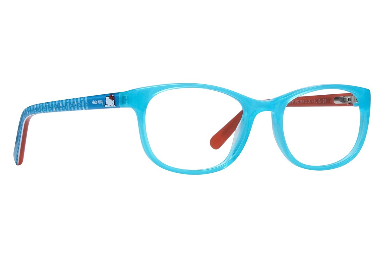 Hello Kitty HK288 Turquoise Glasses