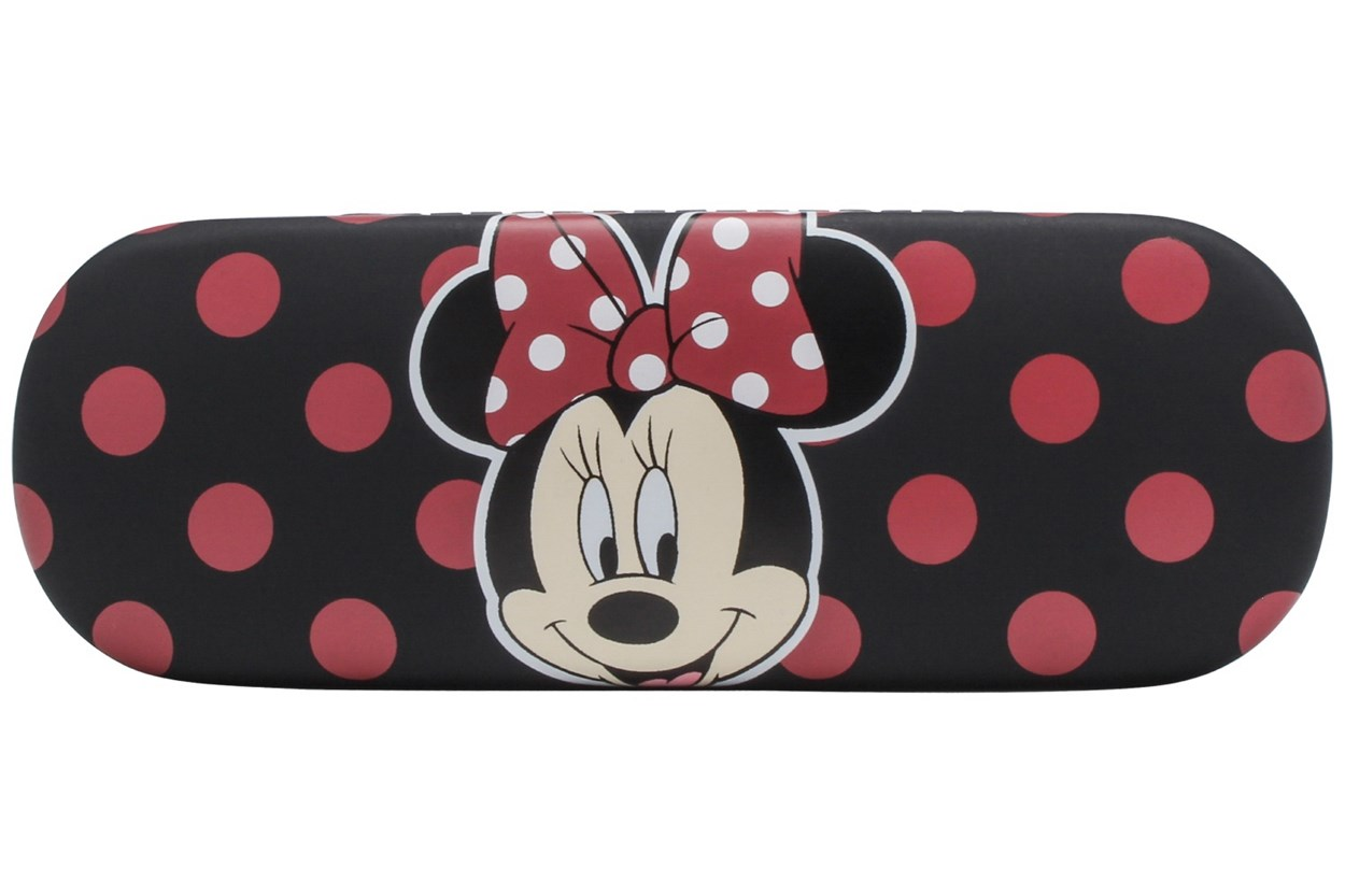 Disney Minnie Optical Eyeglass Case Black 50