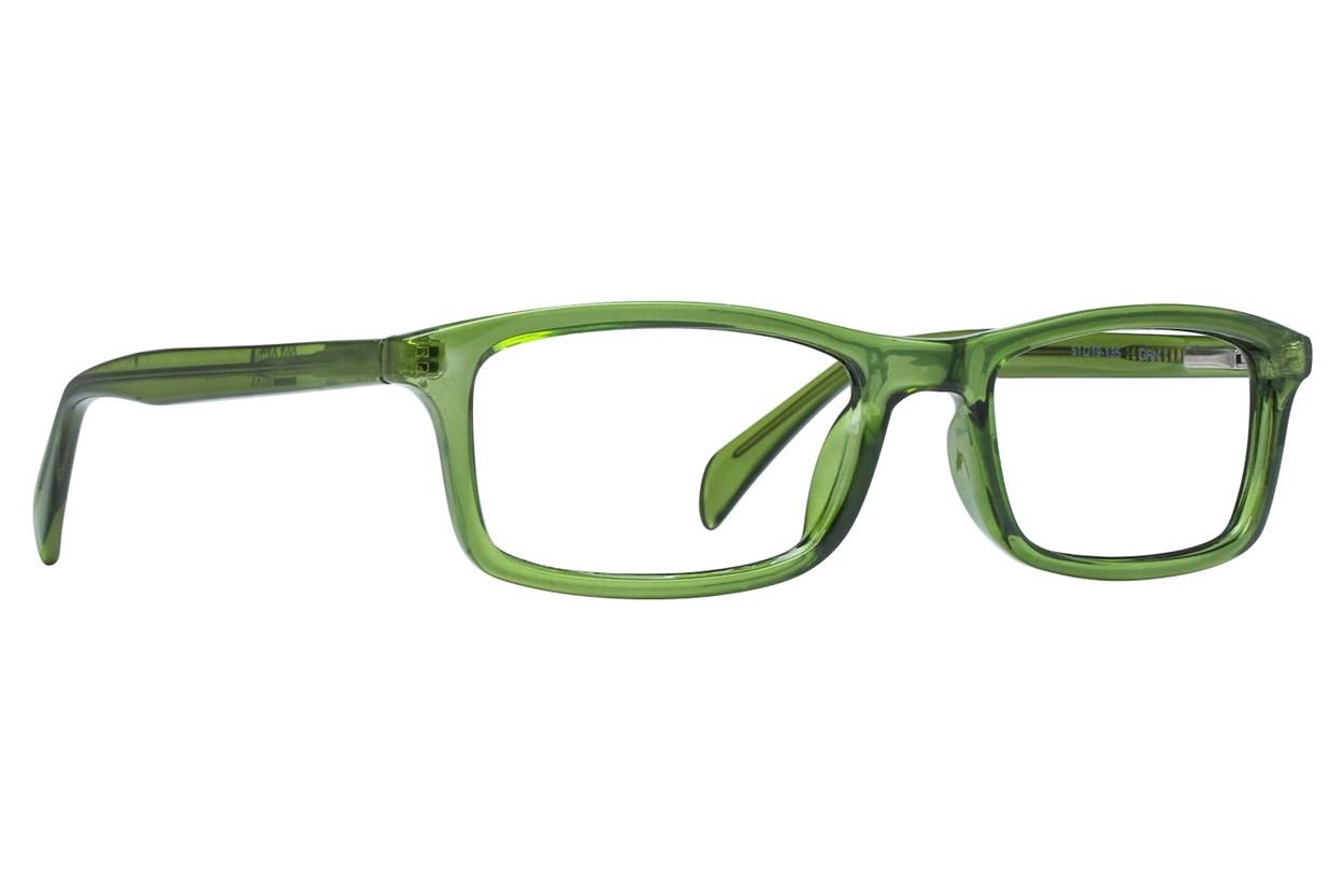 Colour Block VCMCB4 Green Glasses