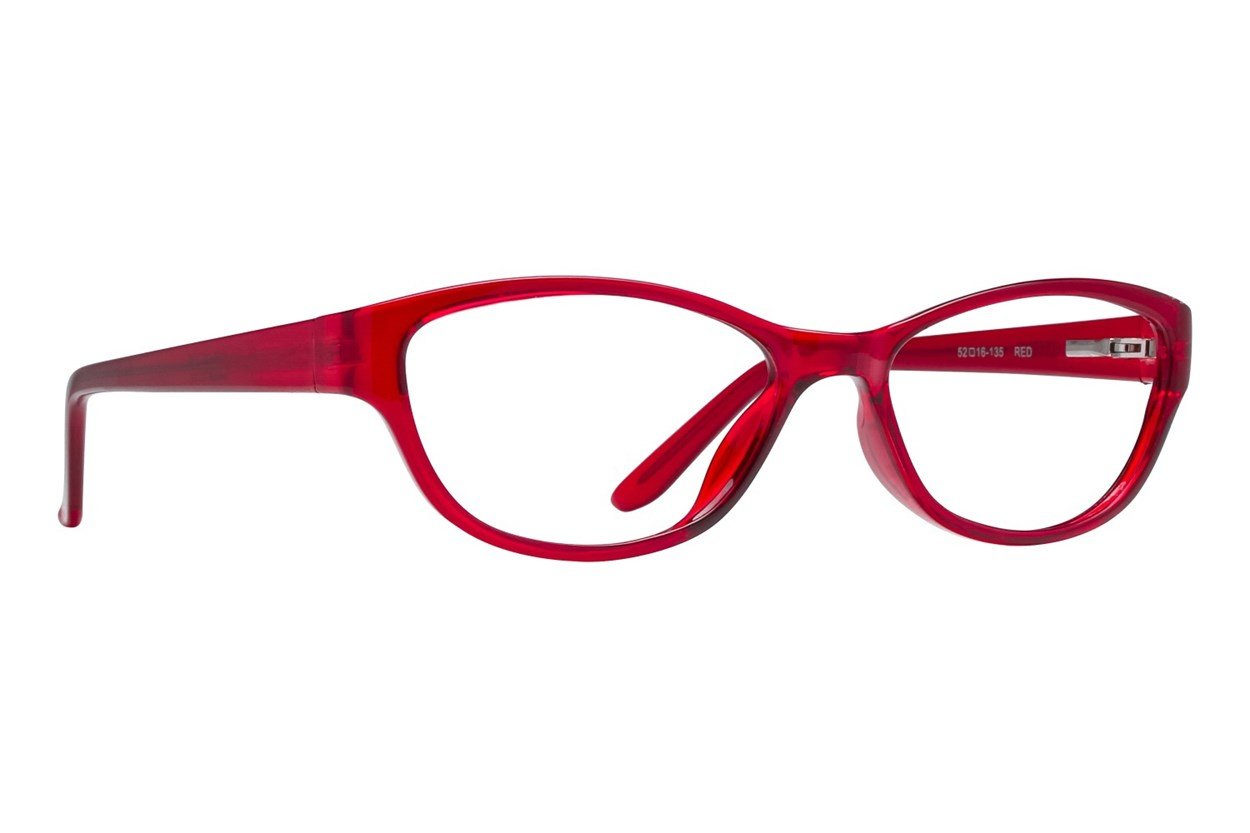 Colour Block VCWC2 Red Glasses