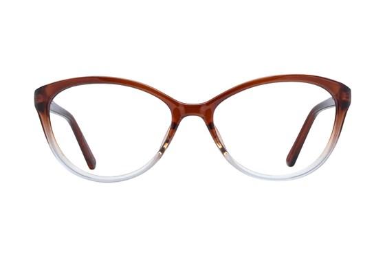 Colour Block VCWC5 Brown Glasses