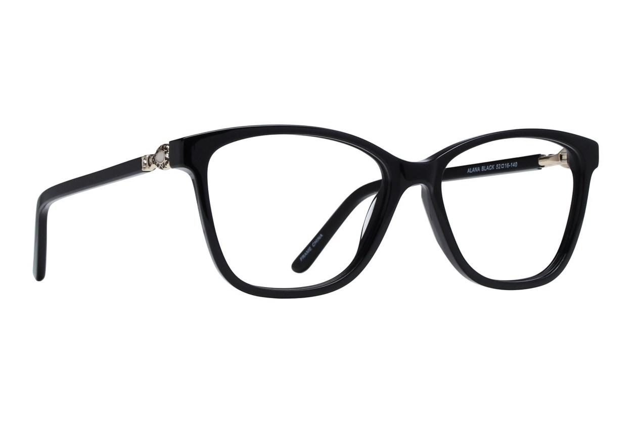 Serafina Alana Black Glasses