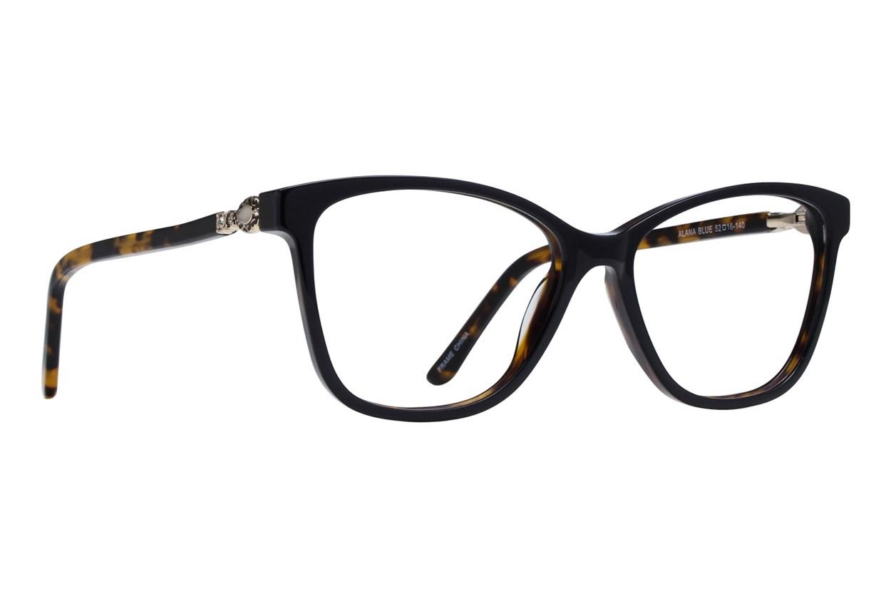 Serafina Alana Blue Glasses