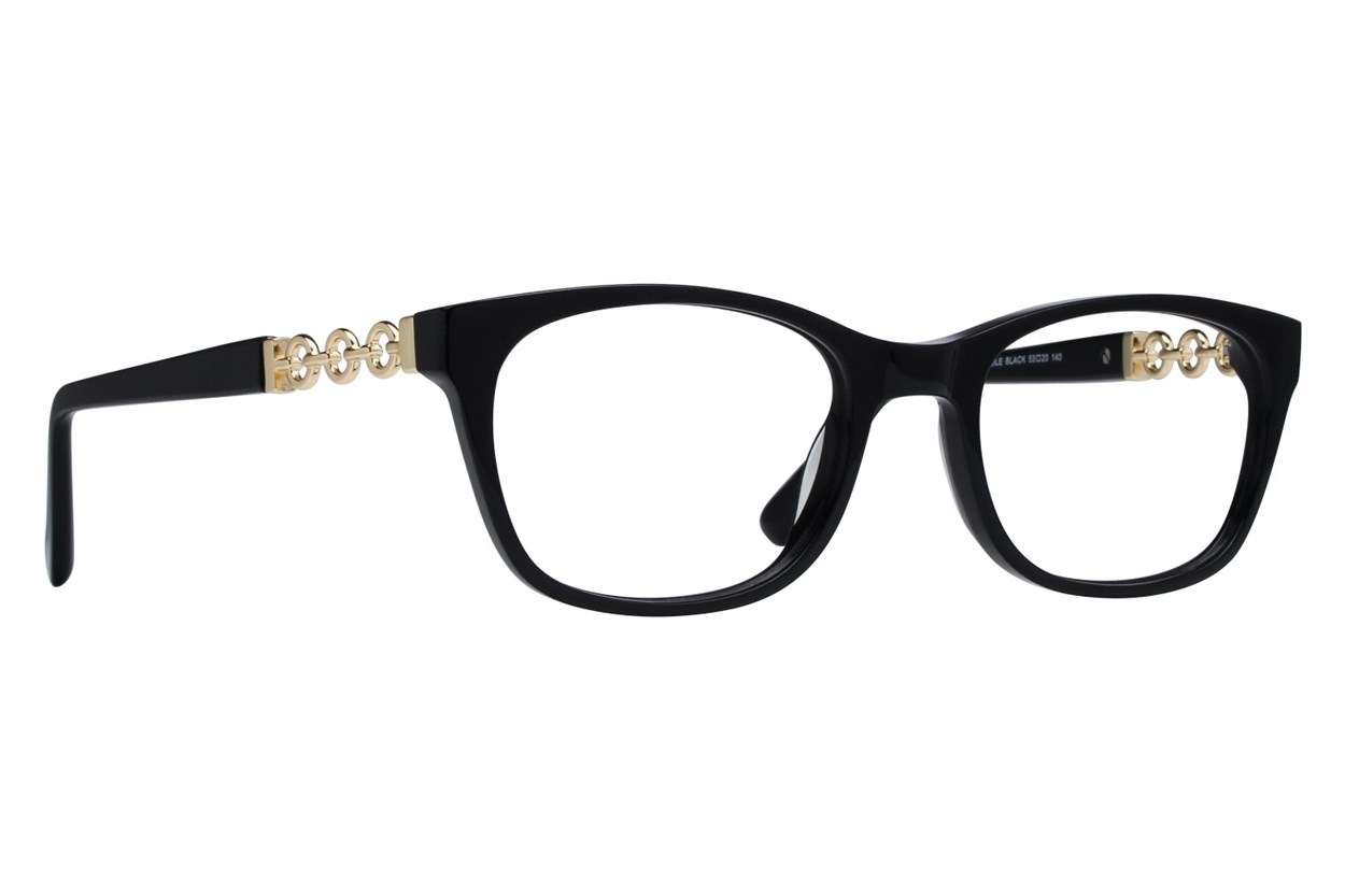 Serafina Carole Black Glasses