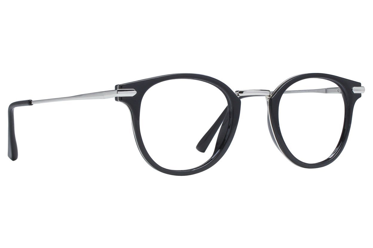 Eight To Eighty Eyewear College Black Glasses