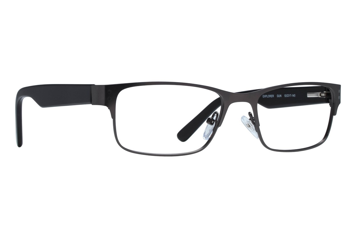 Eight To Eighty Eyewear Explorer Gray Glasses
