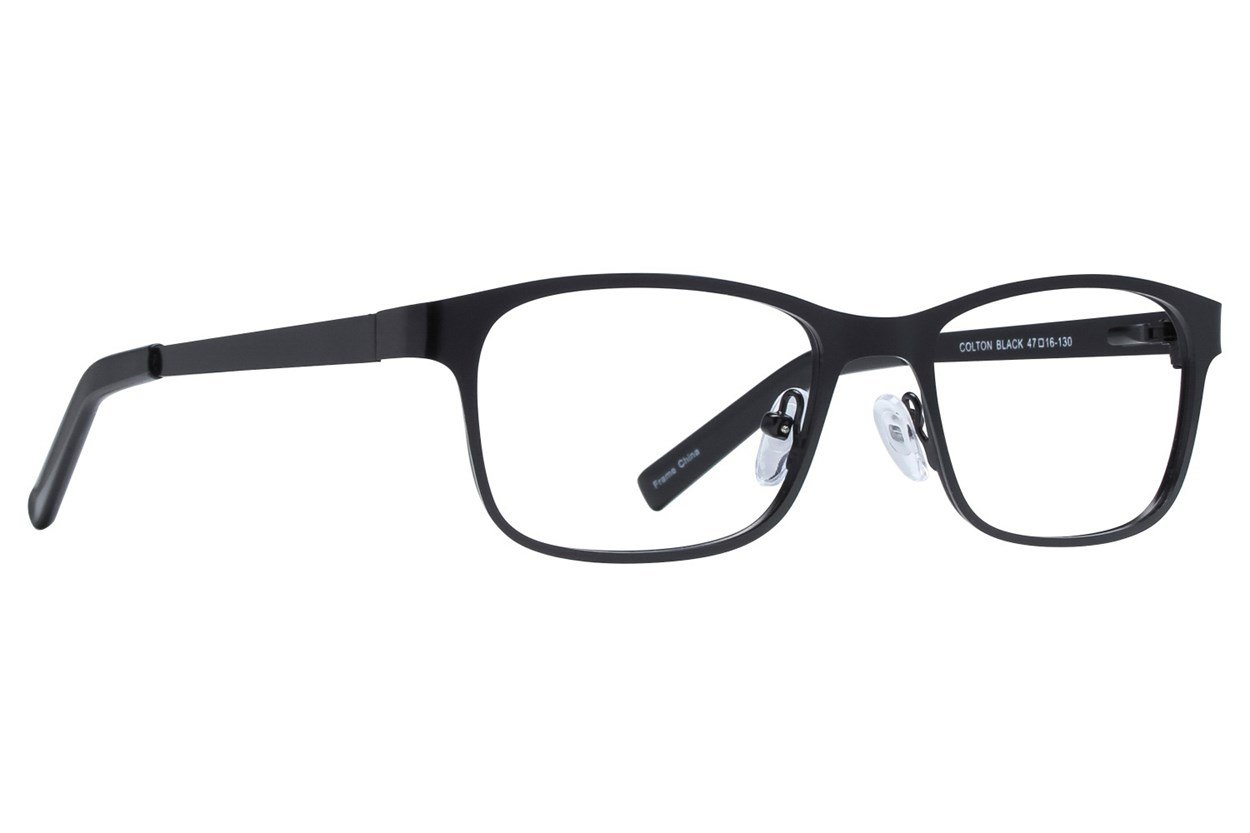 Affordable Designs Colton Eyeglasses - Black