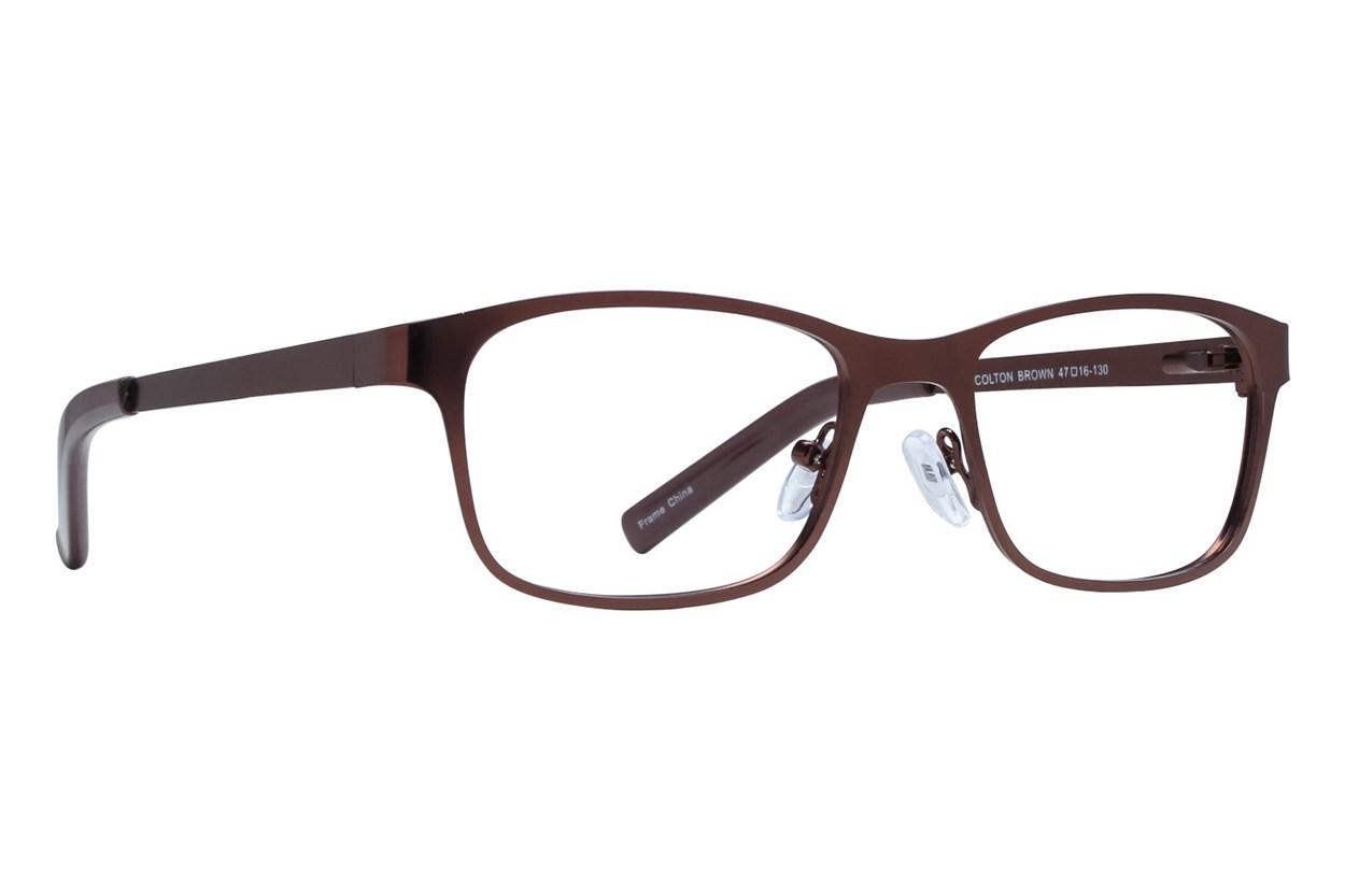 Affordable Designs Colton Brown Glasses