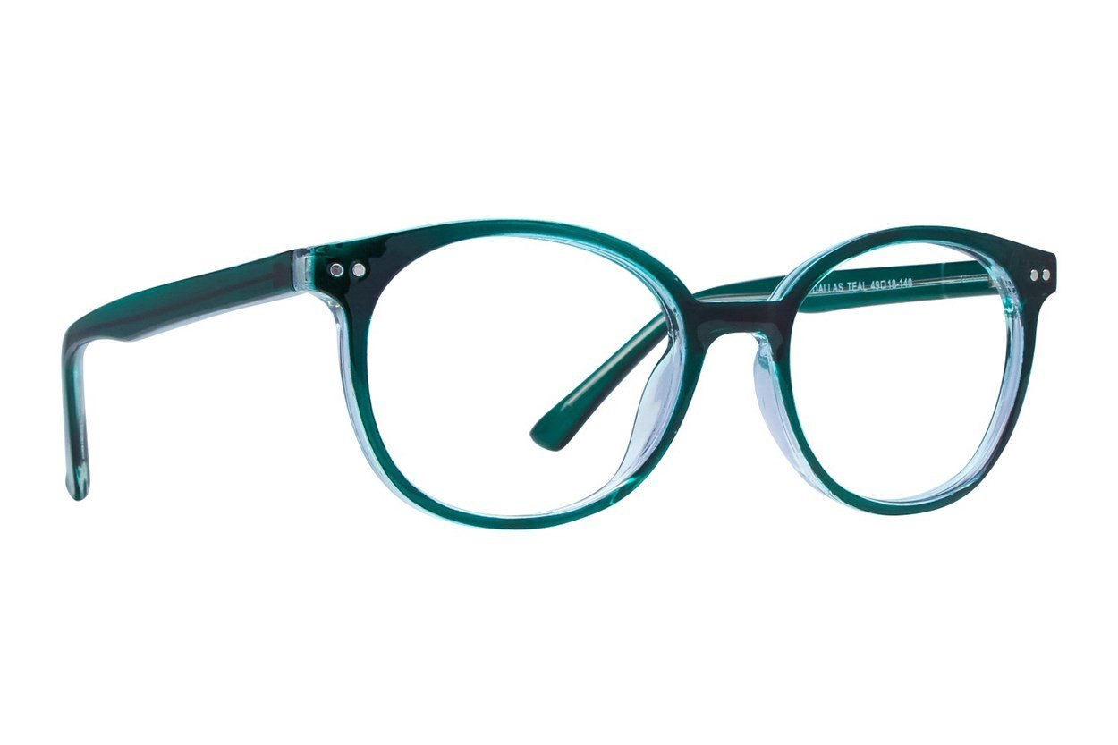 Affordable Designs Dallas Eyeglasses - Turquoise