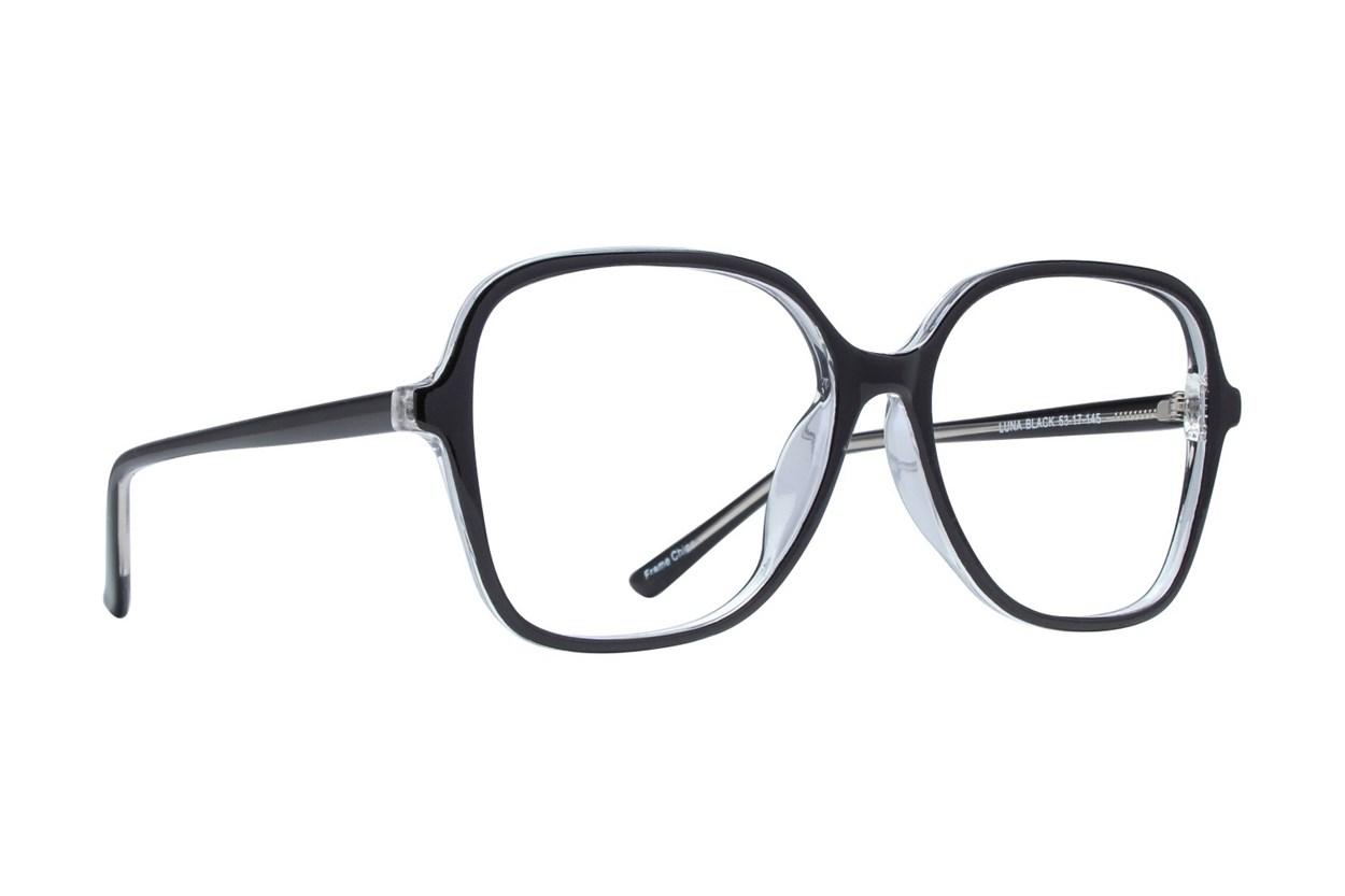Affordable Designs Luna Black Glasses