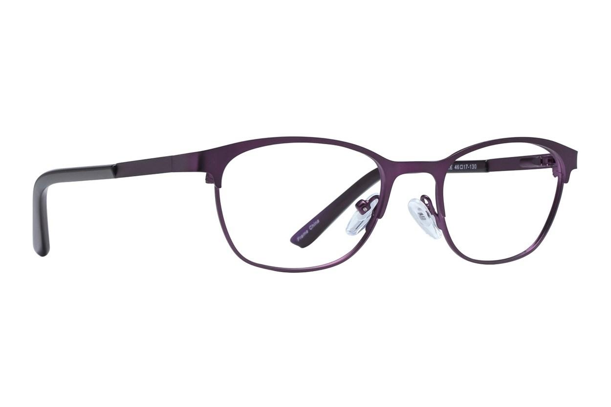 Affordable Designs Noelle Purple Glasses