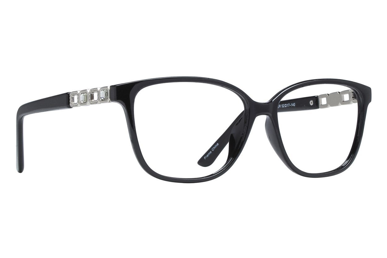 Affordable Designs Pam Black Glasses