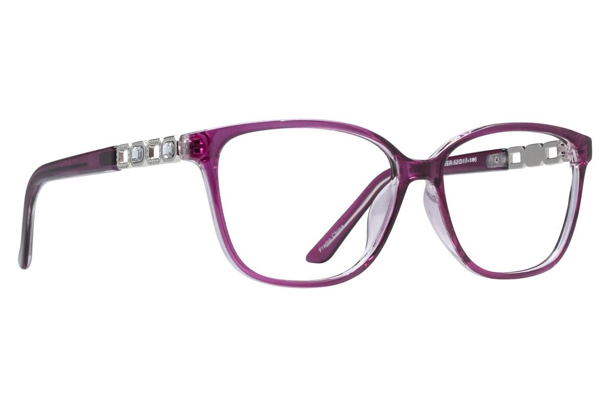 Affordable Designs Pam Purple Glasses