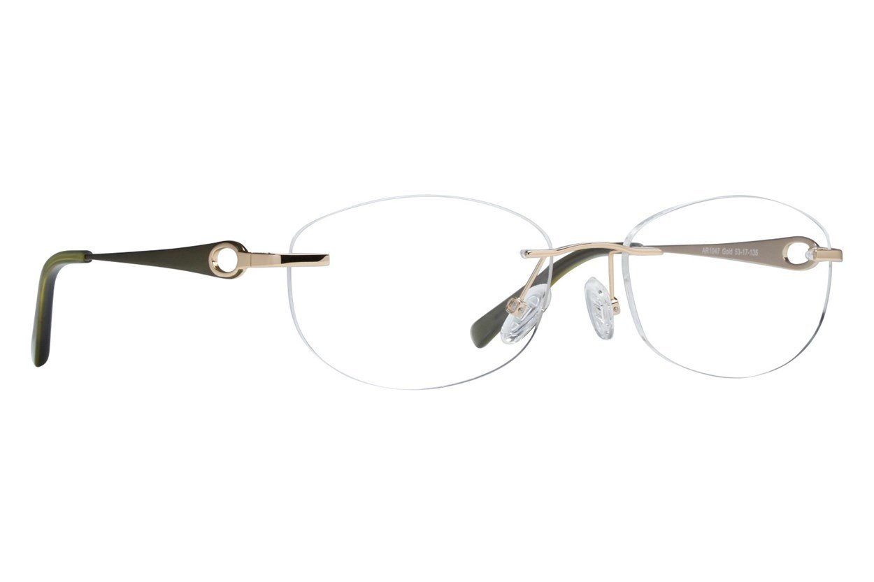 Arlington AR1047 Gold Glasses