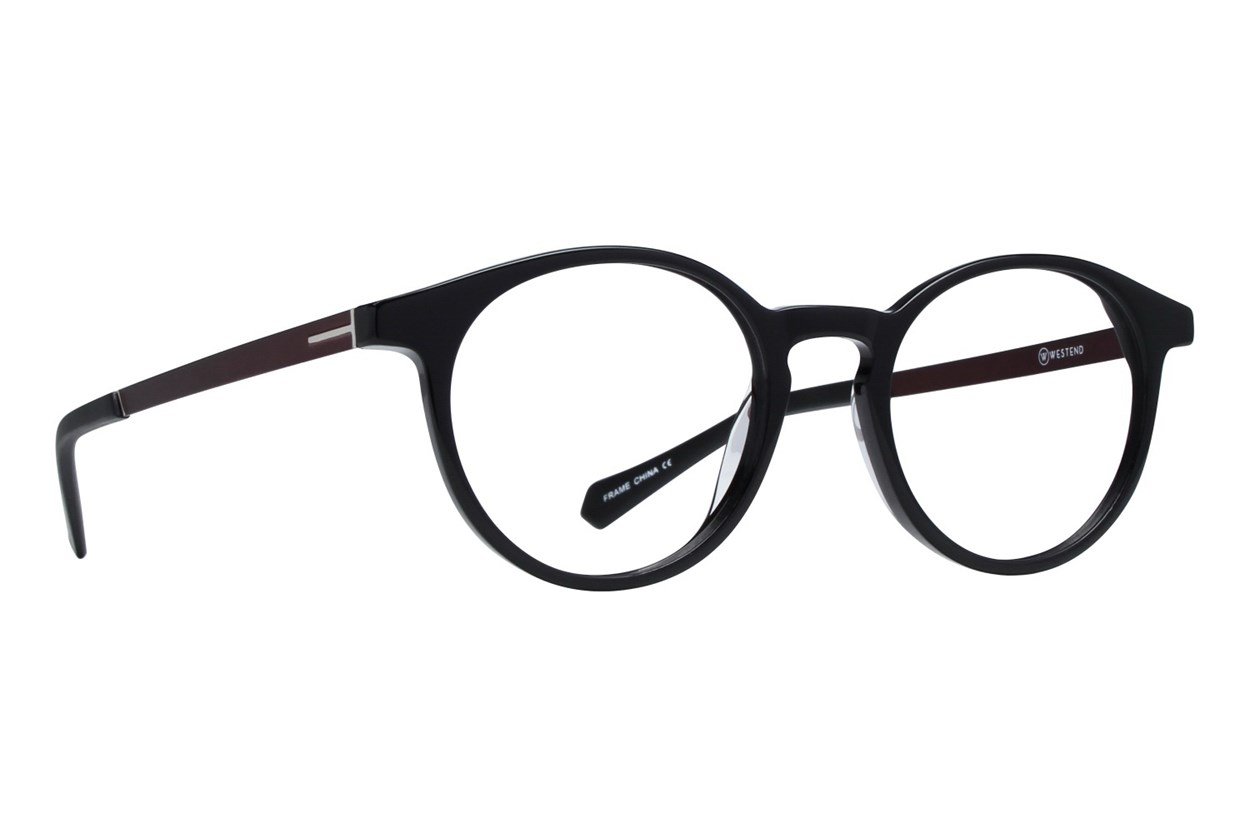 Westend Shaker Heights Black Glasses