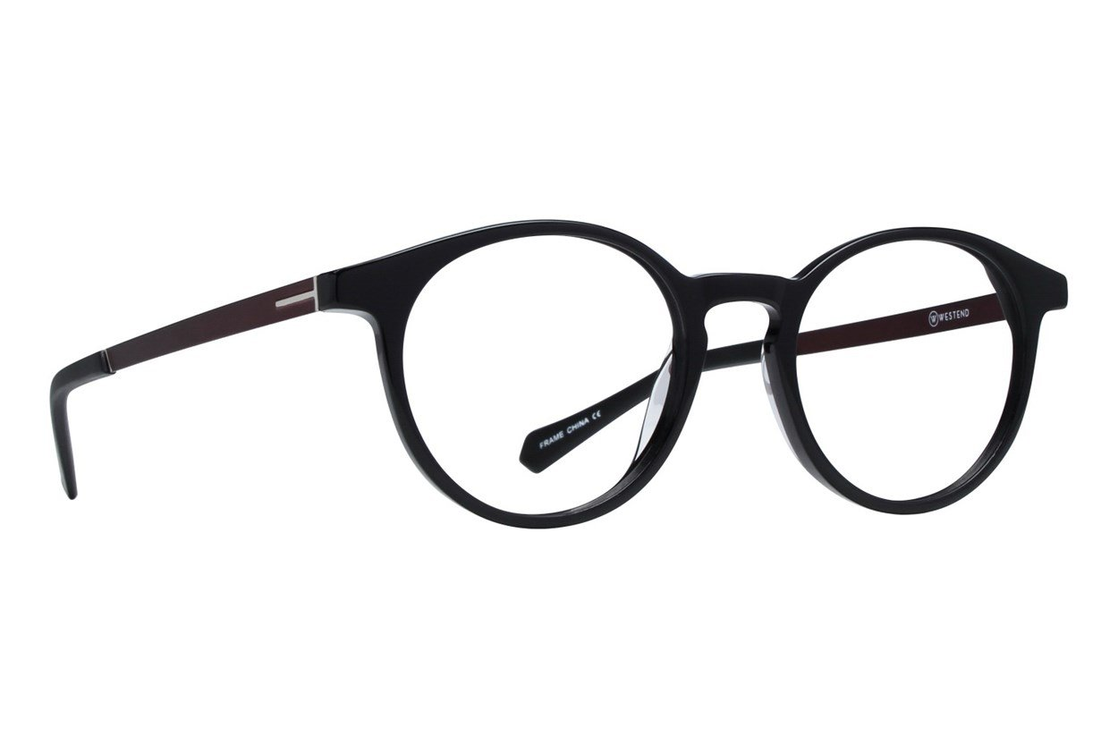 Westend Shaker Heights Eyeglasses - Black