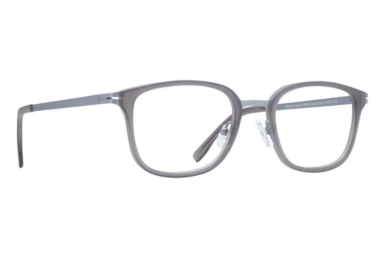 Westend Highland Square Eyeglasses - Gray