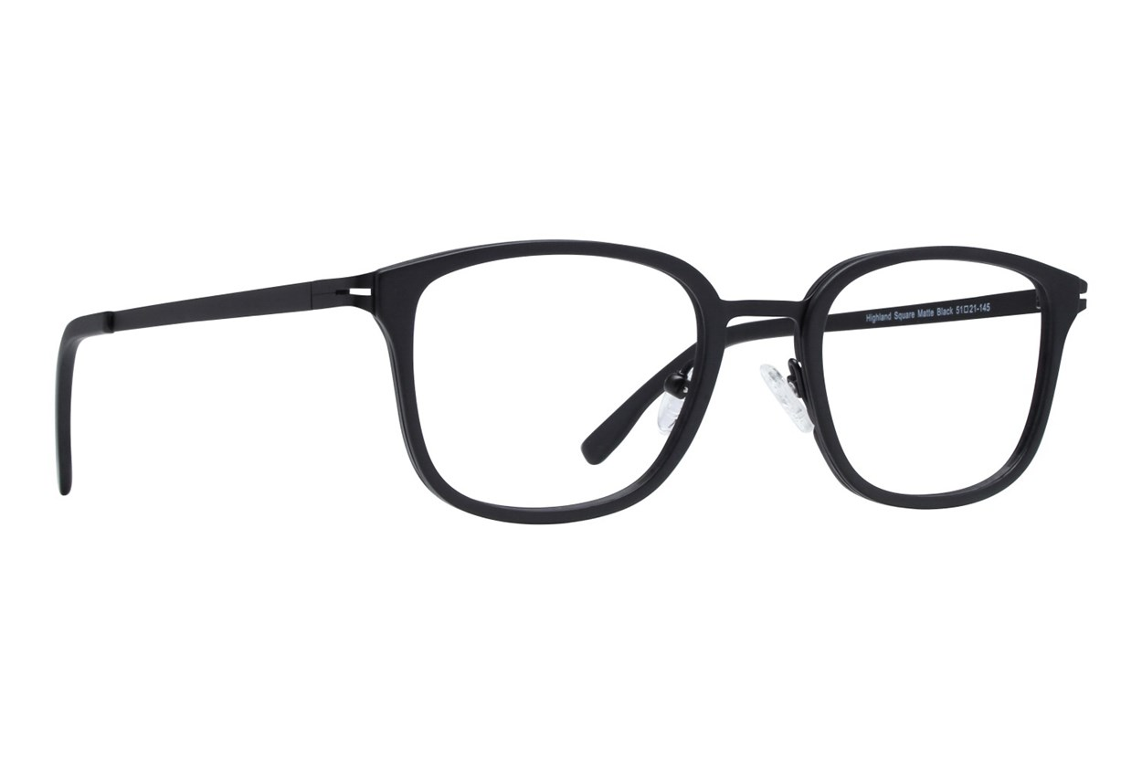 Westend Highland Square Black Glasses