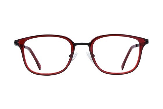 Westend Highland Square Red Glasses