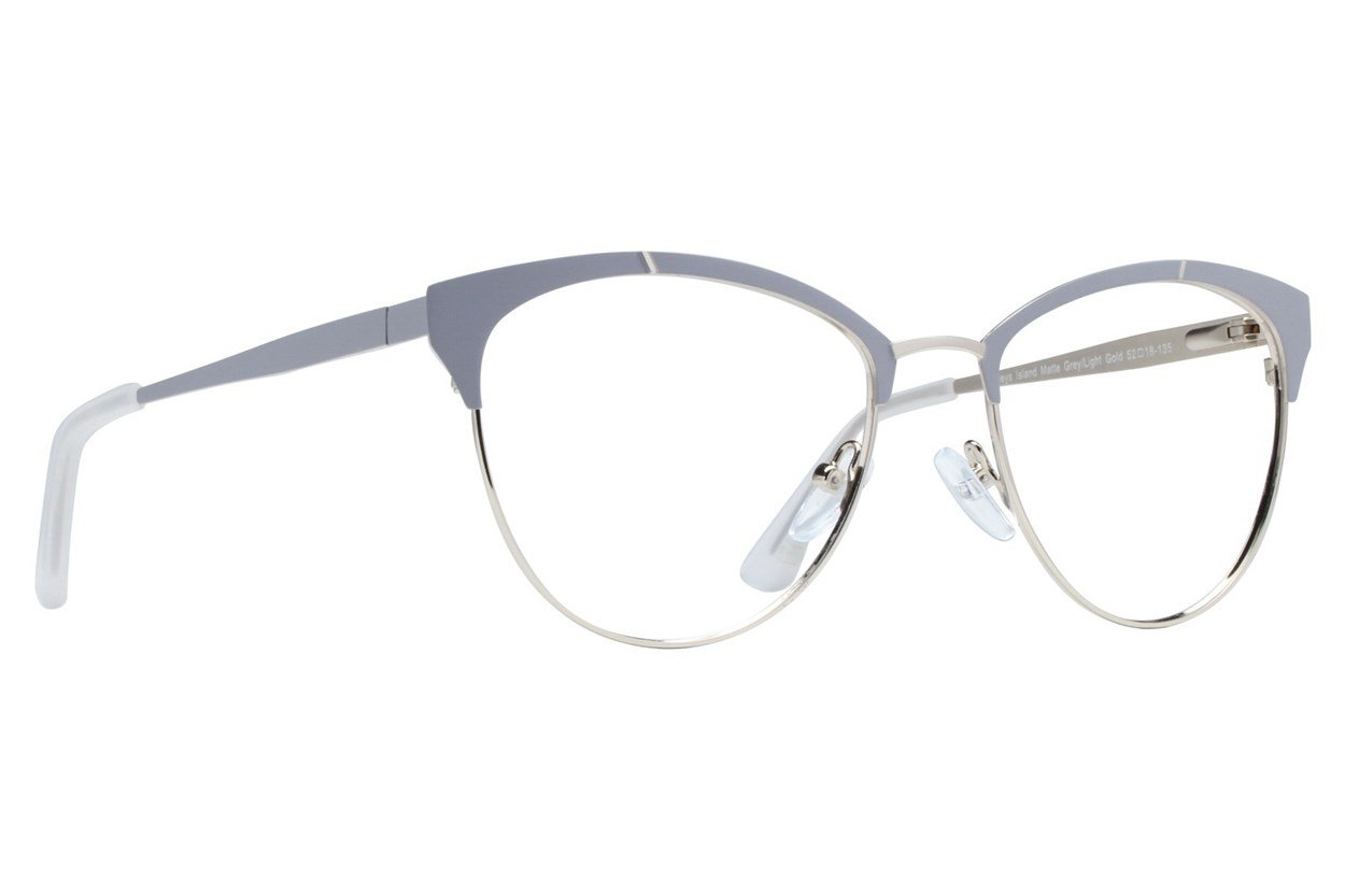 Westend Kelleys Island Gray Glasses