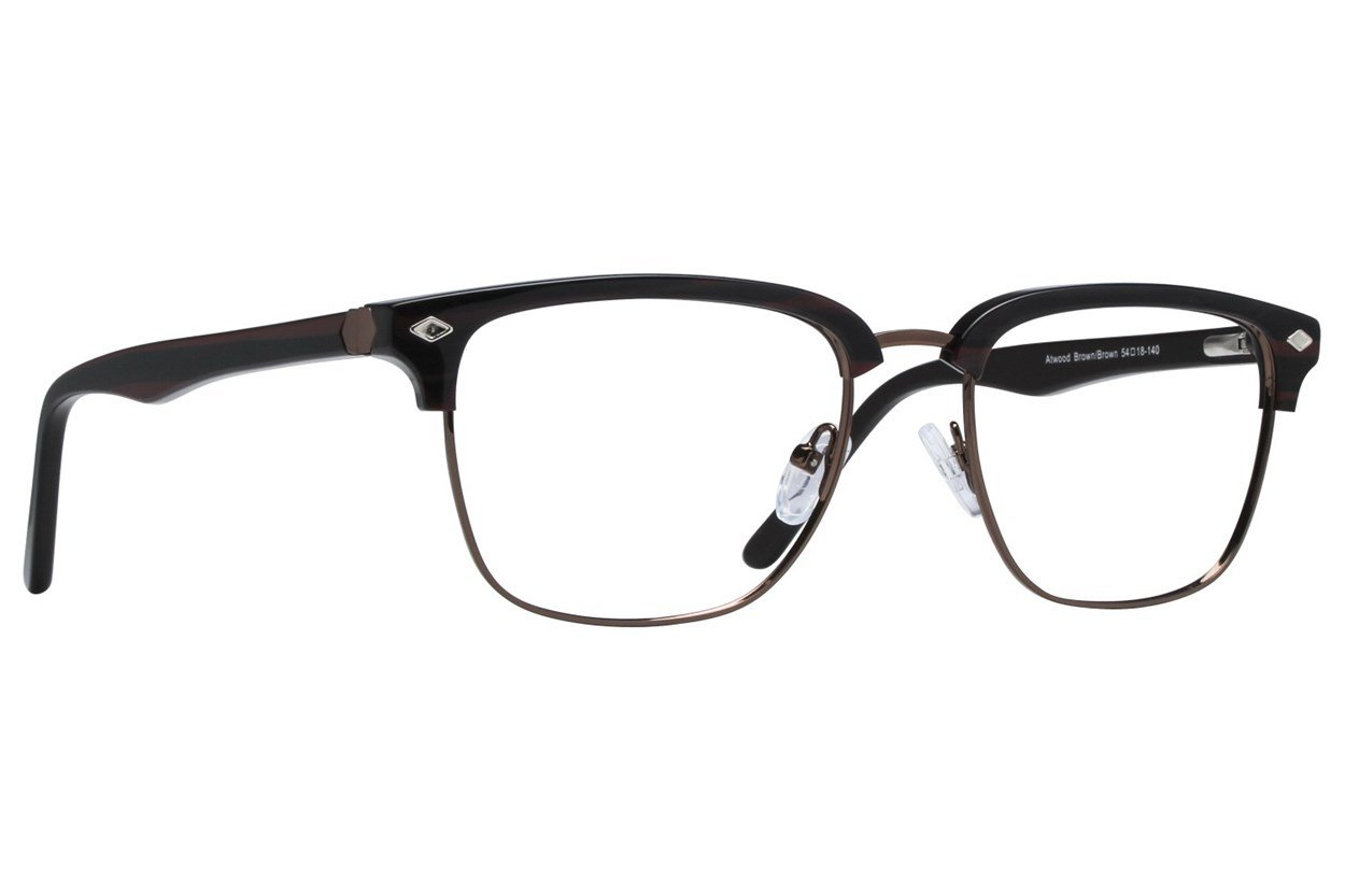 Westend Atwood Brown Glasses