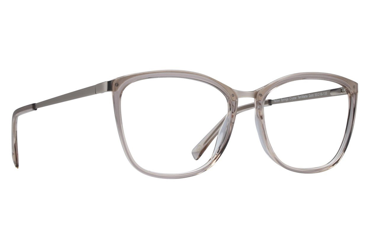 Westend Yellow Springs Eyeglasses - Tan