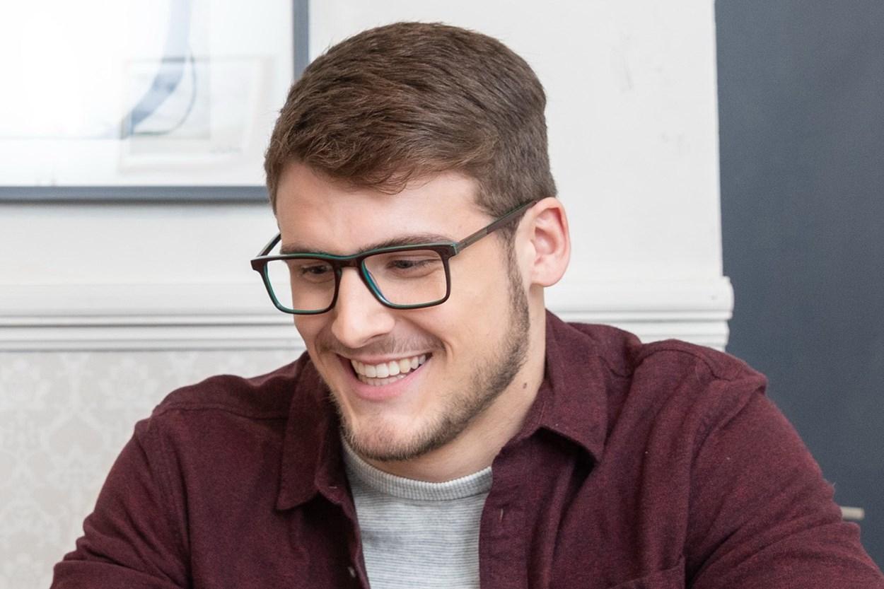 Lunettos Dante Brown Glasses