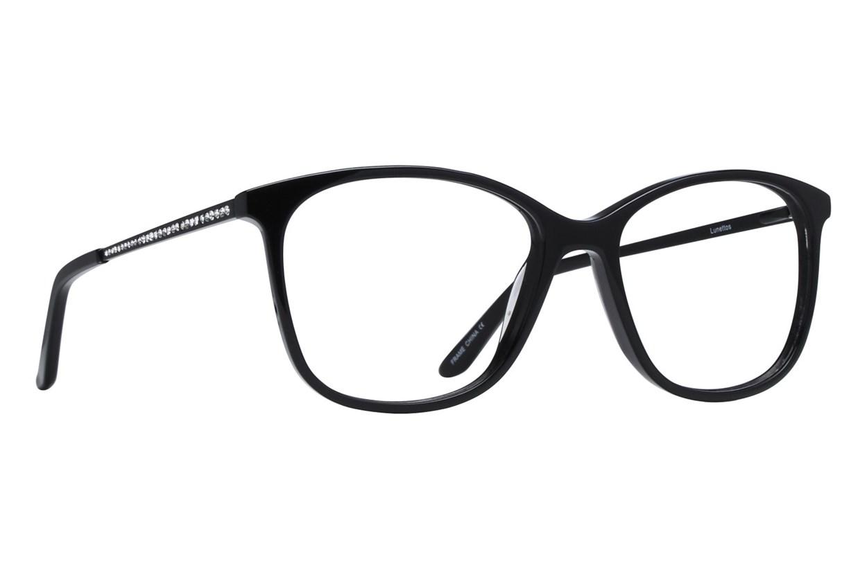 Lunettos Scarlett Black Glasses