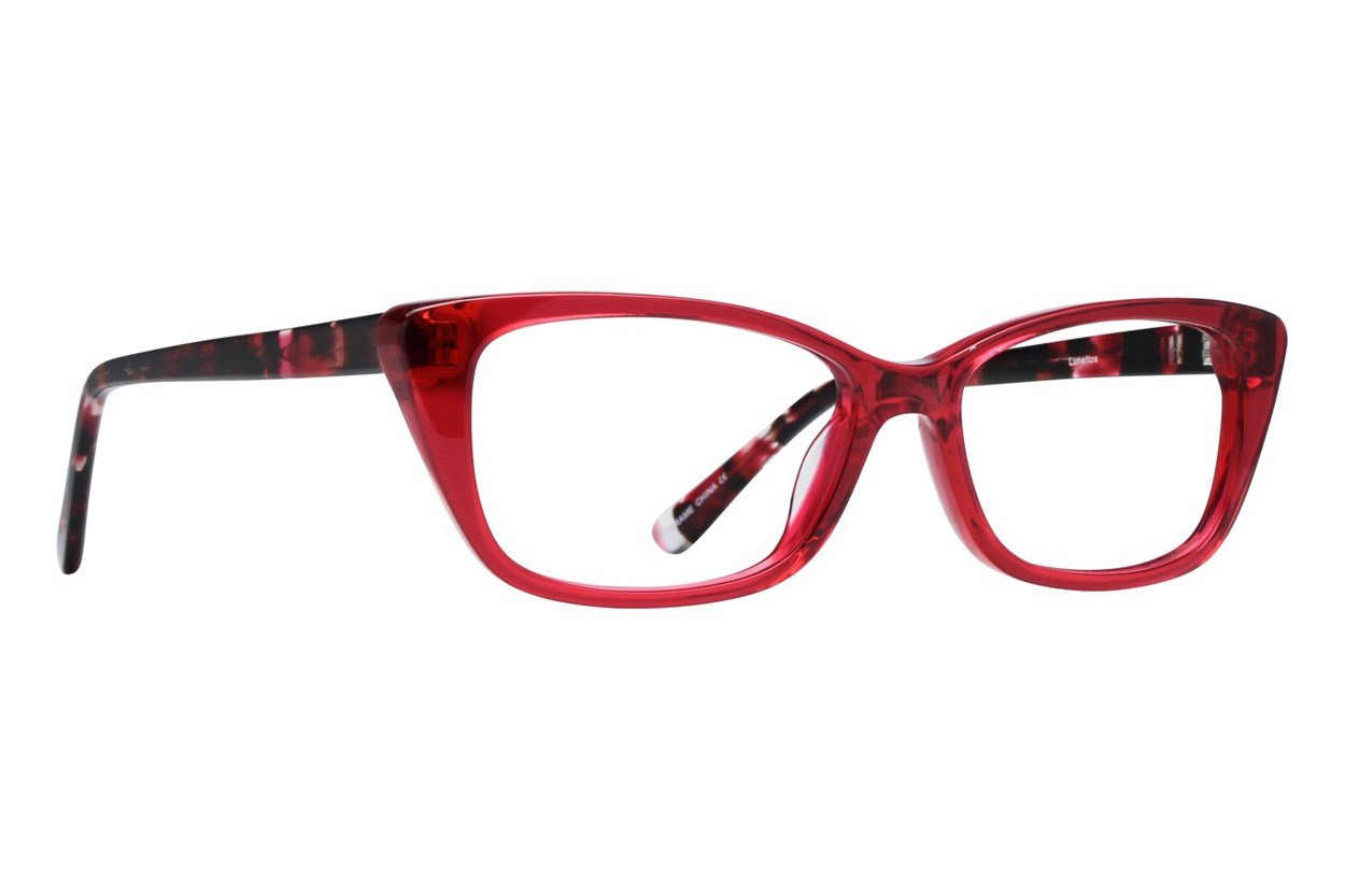 Lunettos Willow Red Glasses