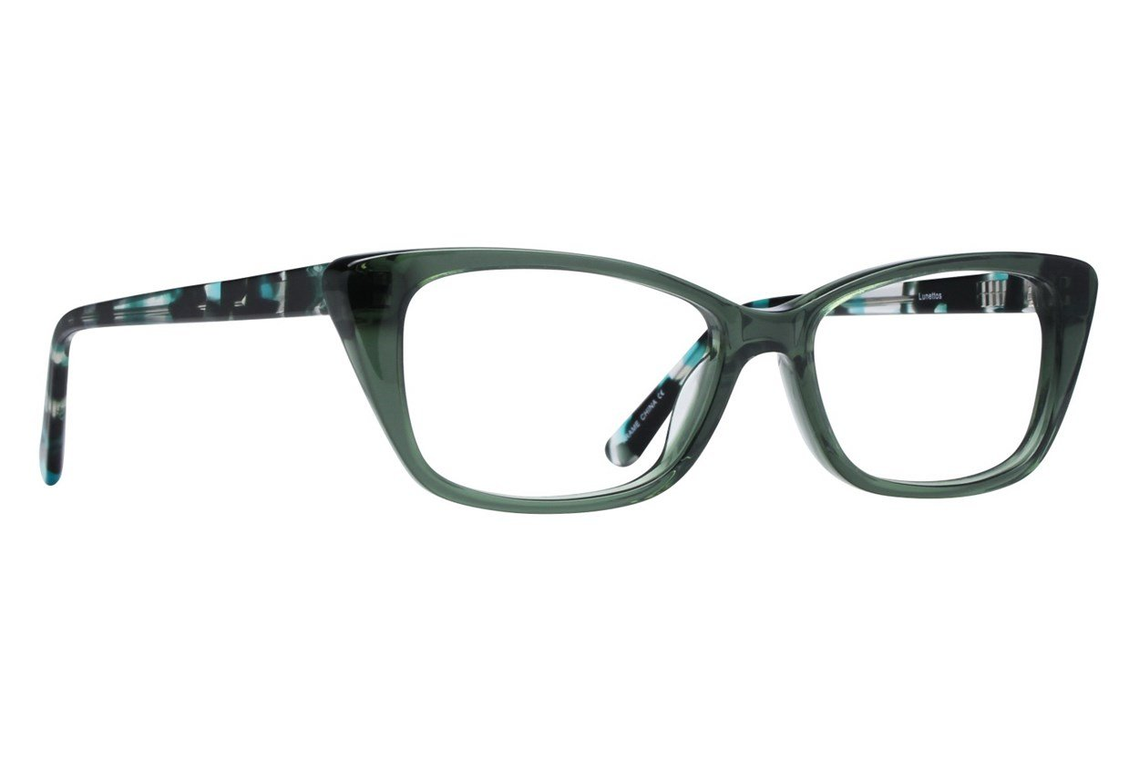 Lunettos Willow Green Glasses