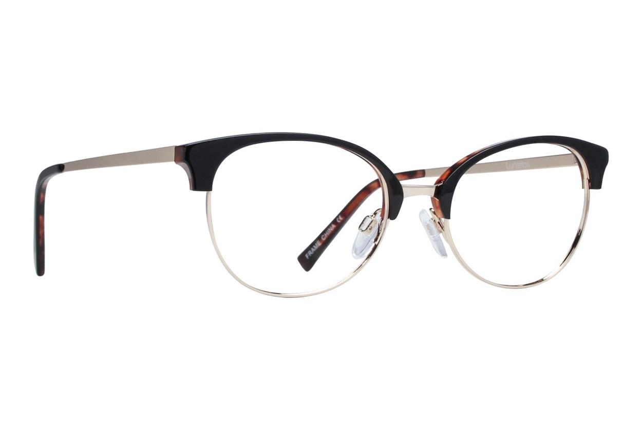 Lunettos Zoe Black Glasses