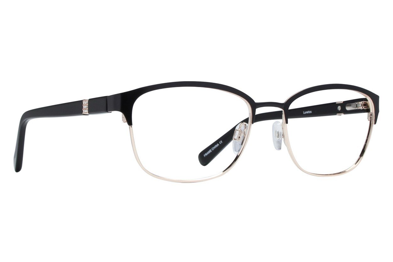 Lunettos Zara Black Glasses