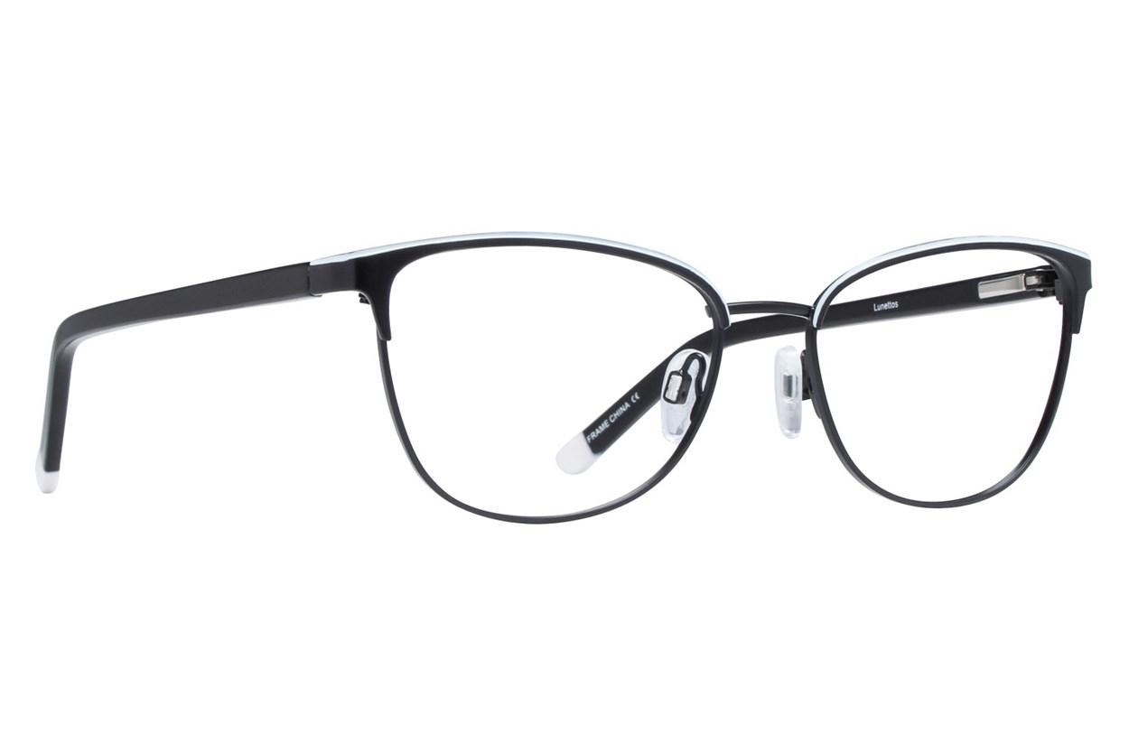 Lunettos Clara Black Glasses
