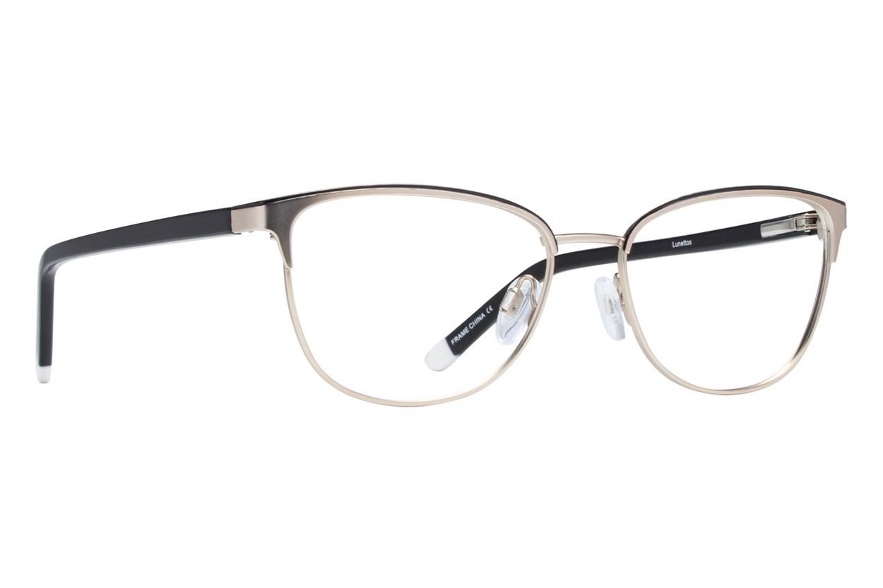 Lunettos Clara Gold Glasses