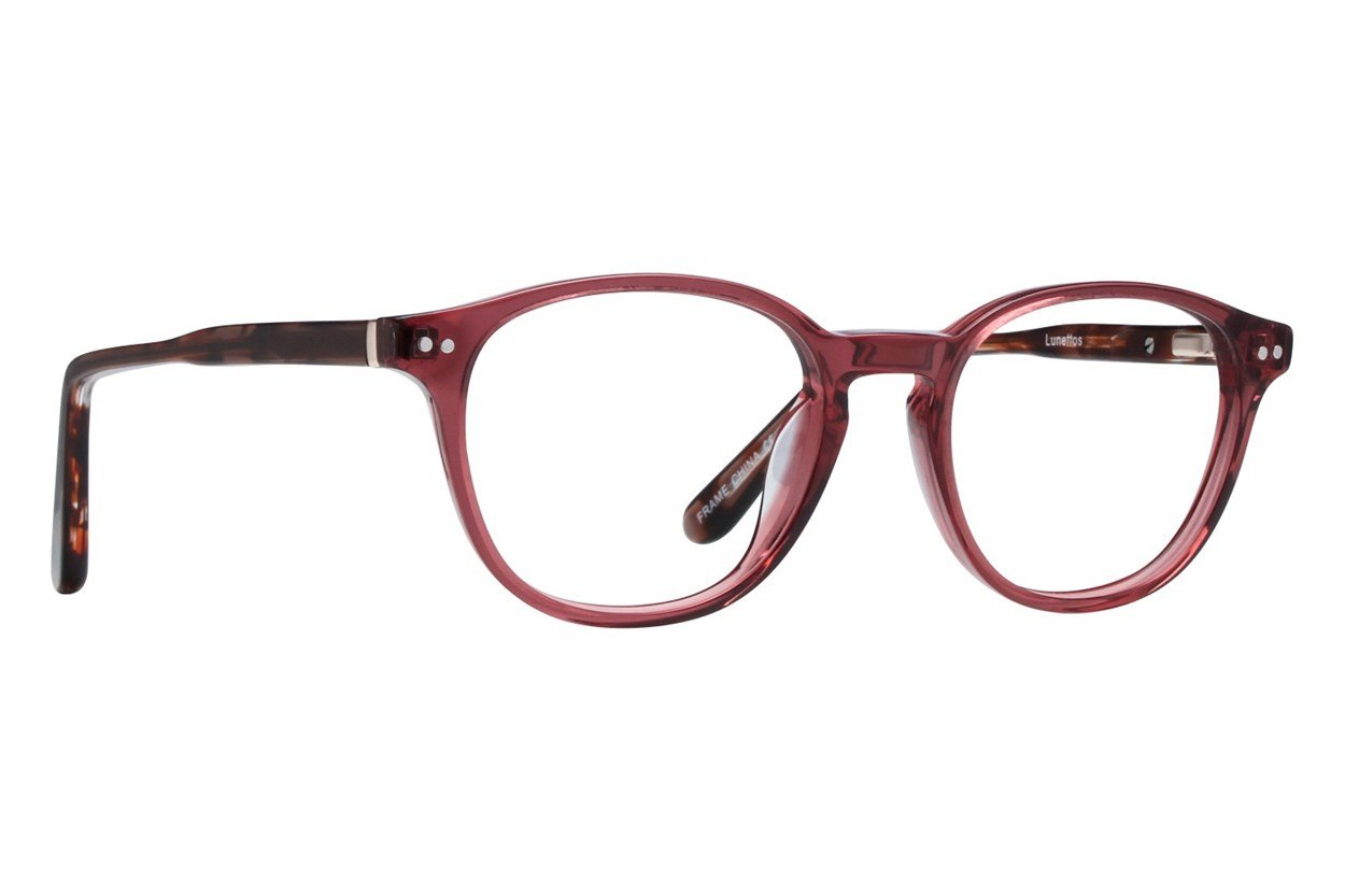 Lunettos Lennon Pink Glasses