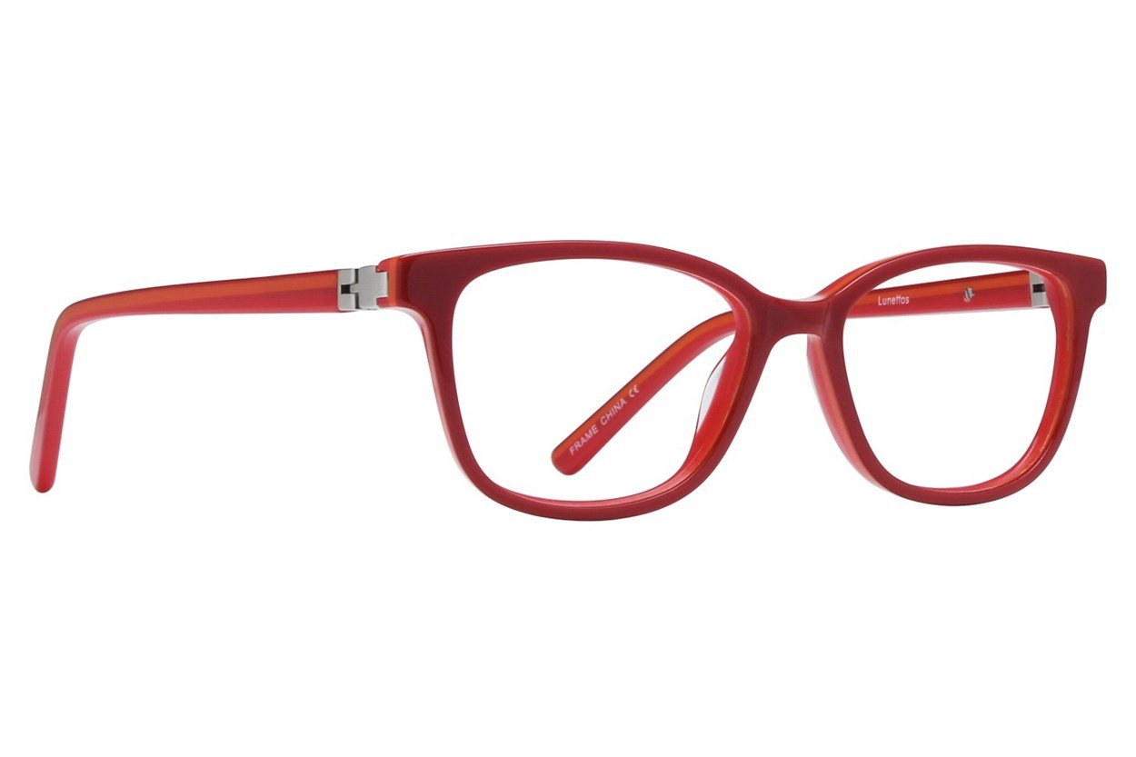 Lunettos Kerry Red Glasses