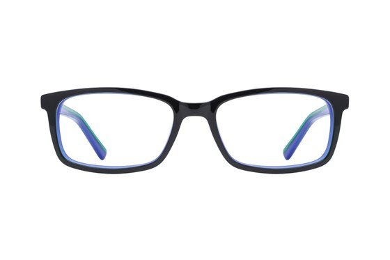 Lunettos Apollo Black Glasses