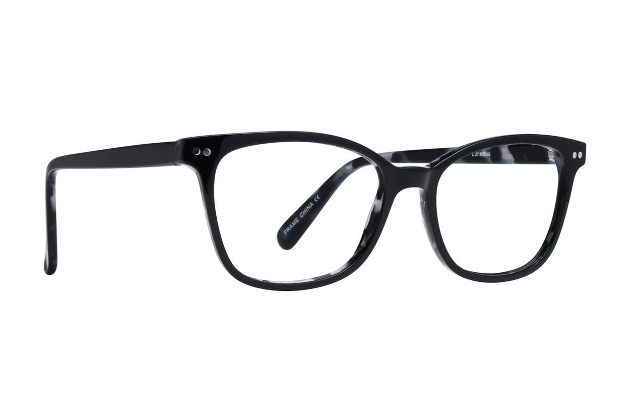 Lunettos Glenda Black Glasses