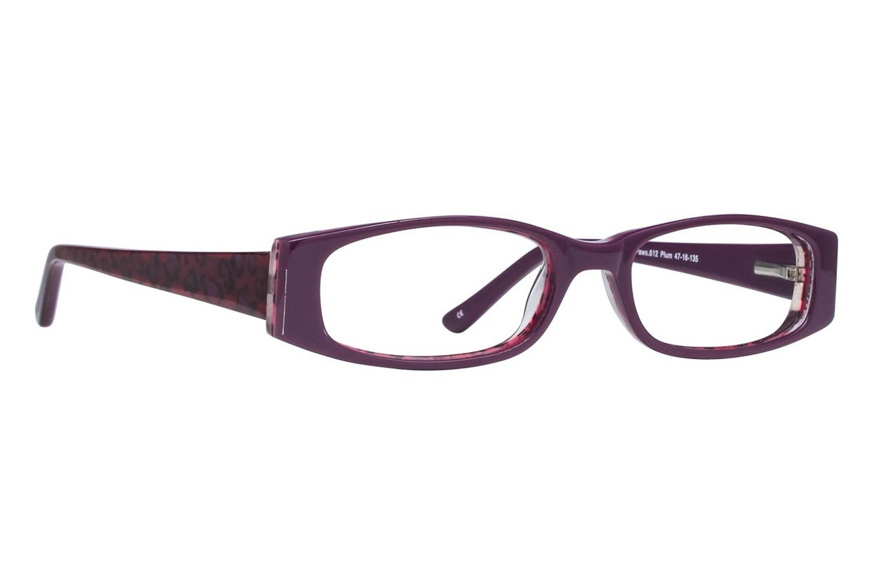 Paws n Claws Paws 612 Purple Glasses