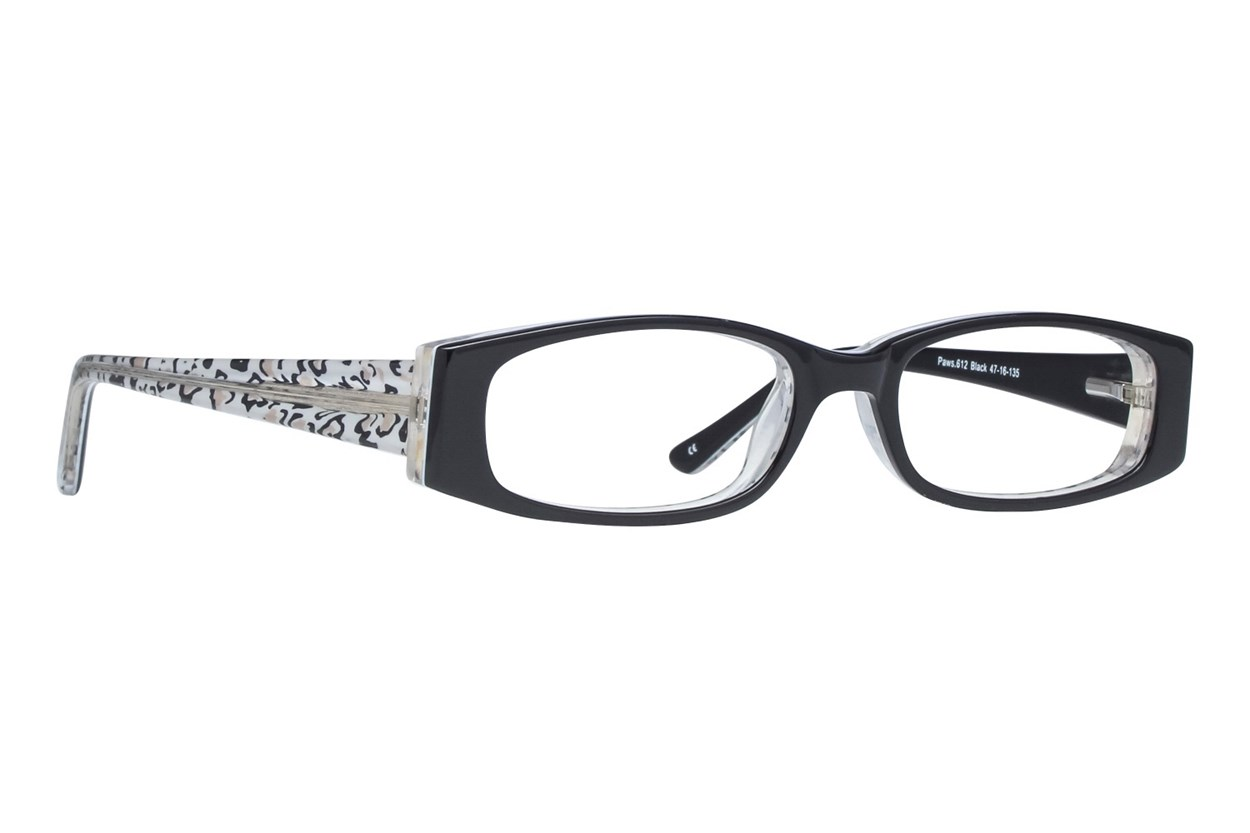 Paws n Claws Paws 612 Black Glasses