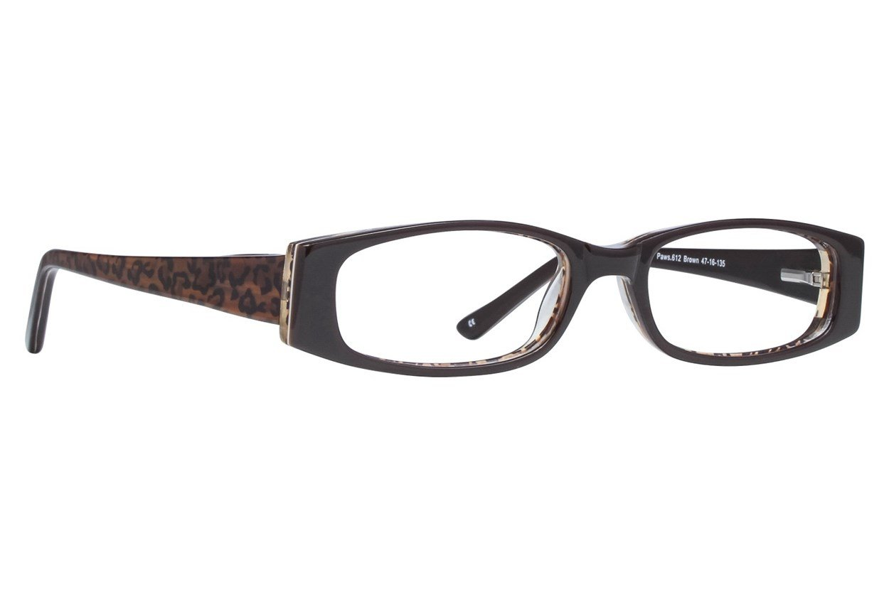 Paws n Claws Paws 612 Brown Glasses