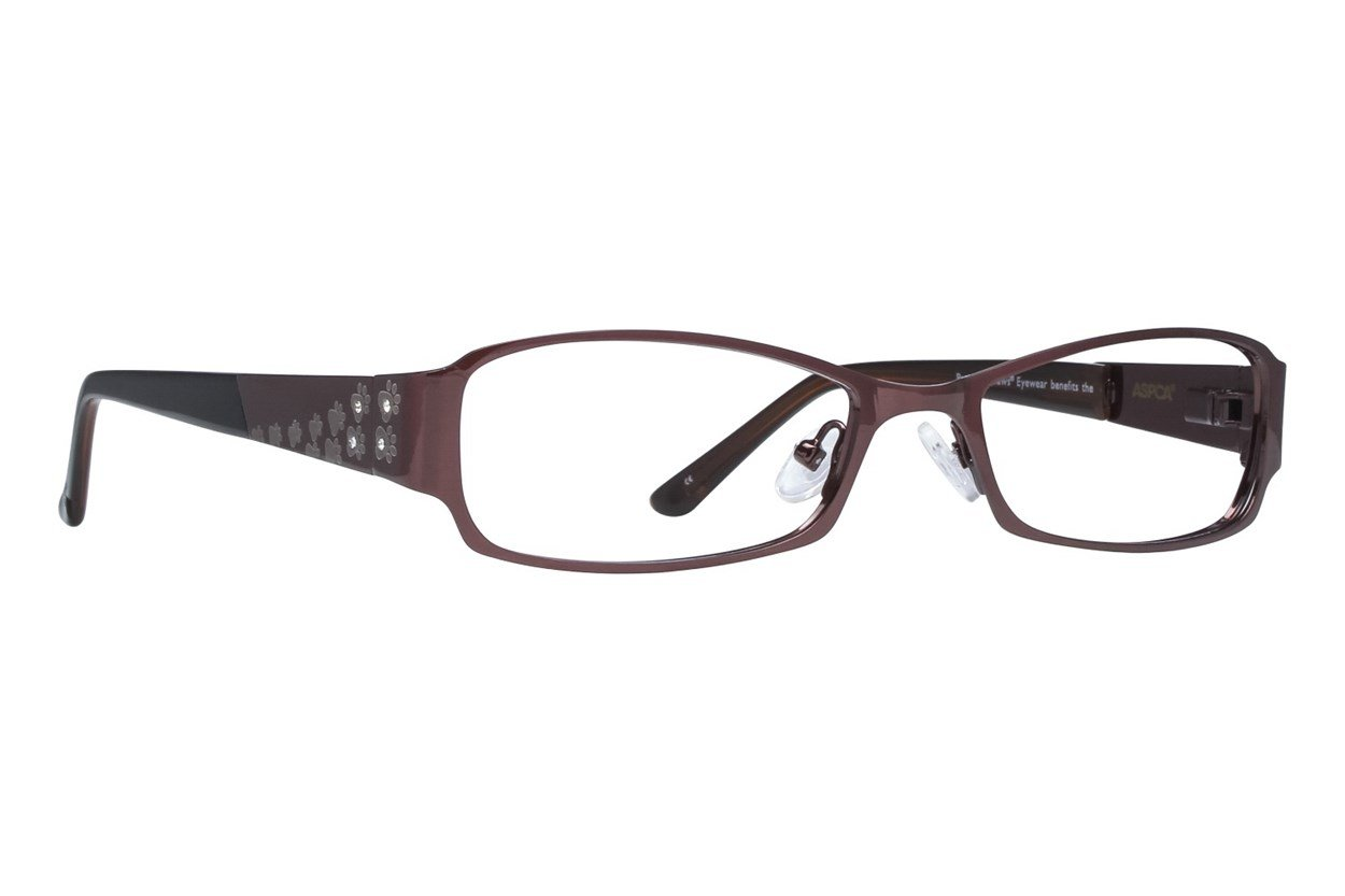 Paws n Claws Paws 609 Eyeglasses - Brown