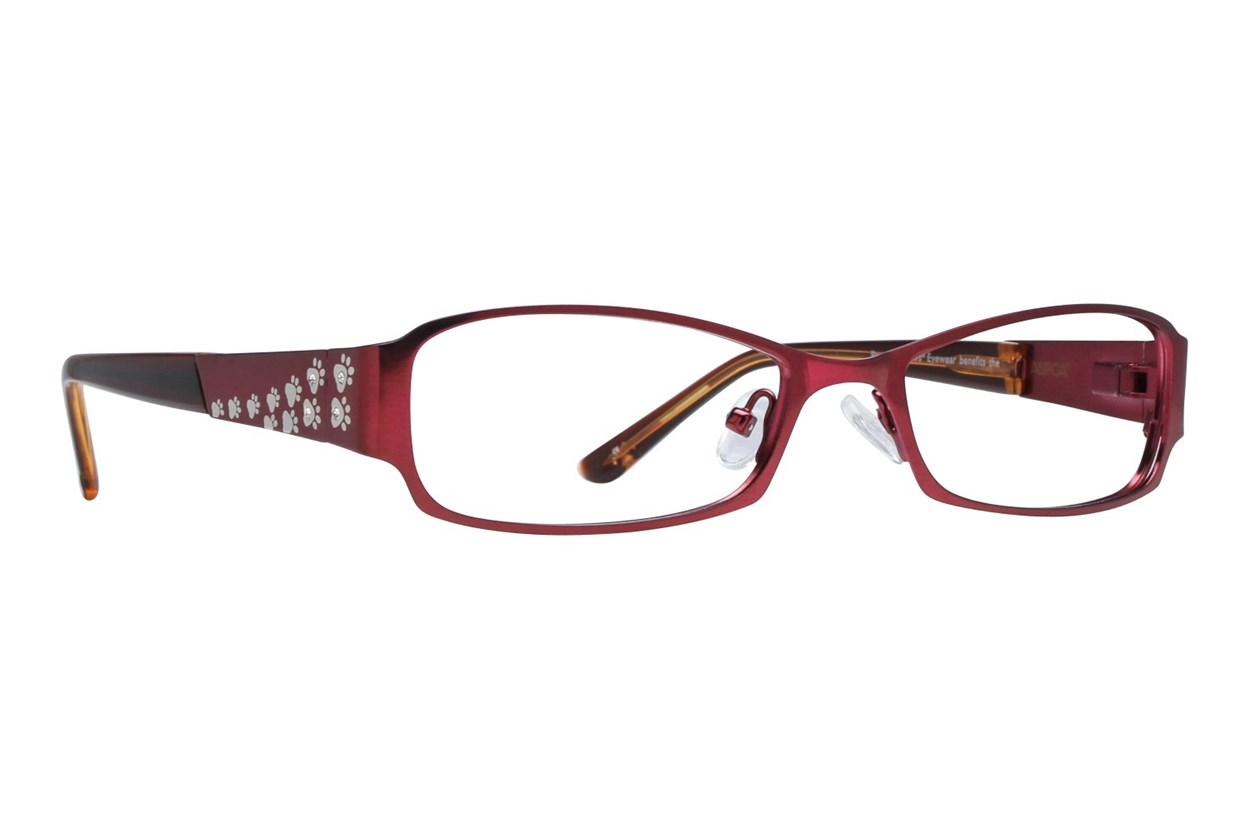 Paws n Claws Paws 609 Eyeglasses - Red